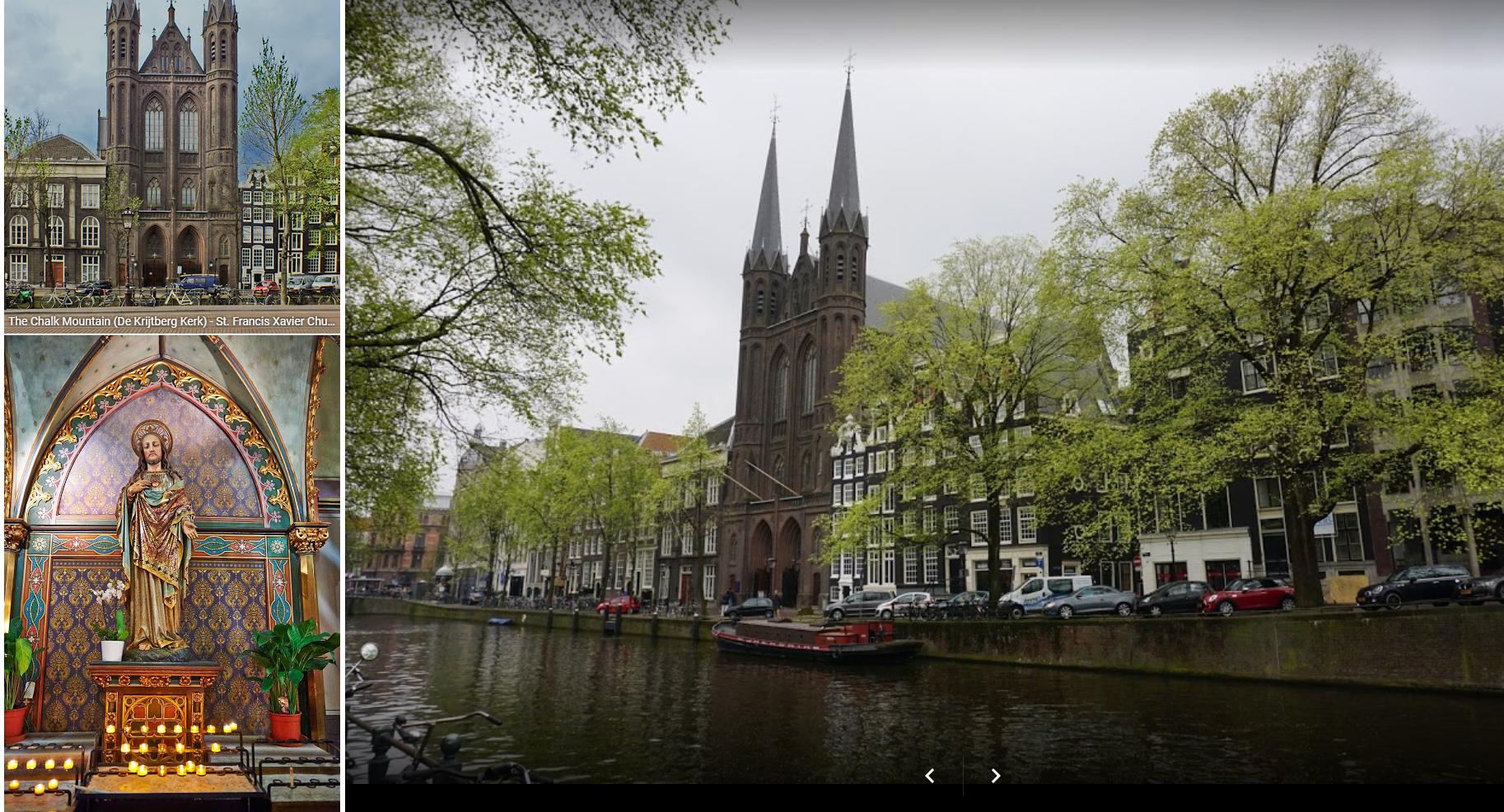 Krijtberg kerk Amsterdam